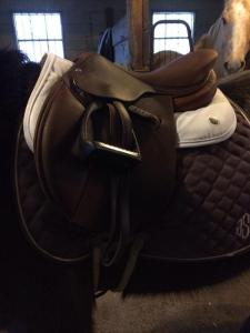 Ogilvy Memory Foam Jumper Half Pad on my pony.