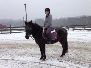 Tempo & Me with our new Ogilvy MemoryFoam Jumper Half Pad.