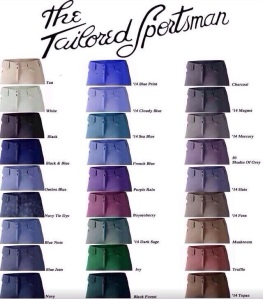 TS Color Chart.