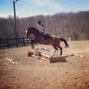 L & I jumping.
