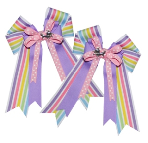 Show bows from JustForPonies.com