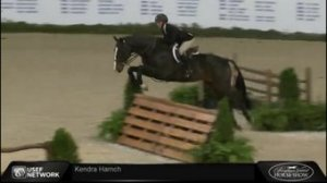 Kendra & Squish during their round. Photo Courtesy of Kendra Harnch.