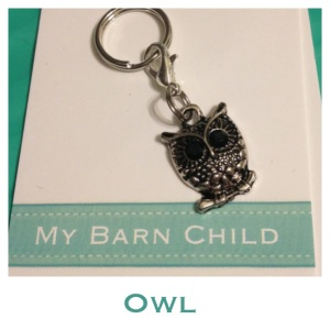My Barn Child Owl Charm.